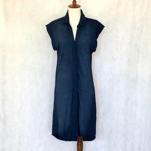 Cloth & Stone by Anthropologie Indigo Knit Dress